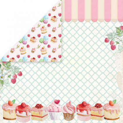 Scrapbooking paper - Craft and You Design - Sweet Dessert 04