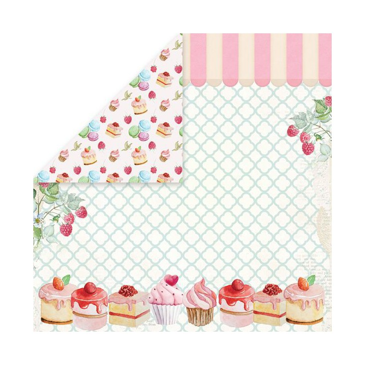 Scrapbooking paper - Craft and You Design - Sweet Desert 04