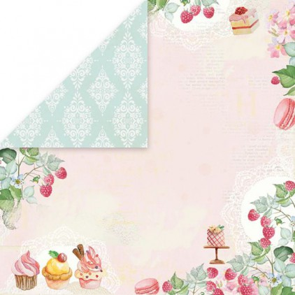 Scrapbooking paper - Craft and You Design - Sweet Desert 06