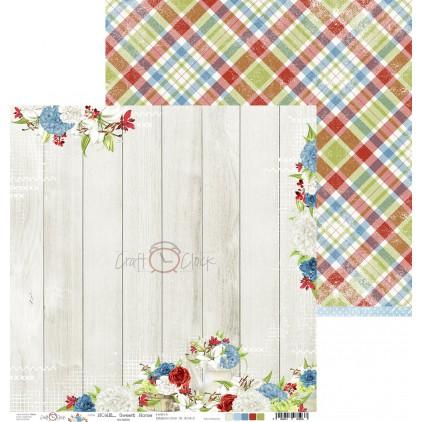 Scrapbooking paper - Craft O Clock - Home... Sweet Home - 03