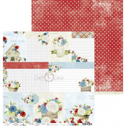 Papier do tworzenia kartek i scrapbookingu - Craft O Clock - Home... Sweet Home - 06