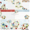 Papier do tworzenia kartek i scrapbookingu - Craft O Clock - Home... Sweet Home - 06