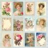 Papier z obrazkami retro - Craft and You Design - Papier do scrapbookingu - Rose Garden 07