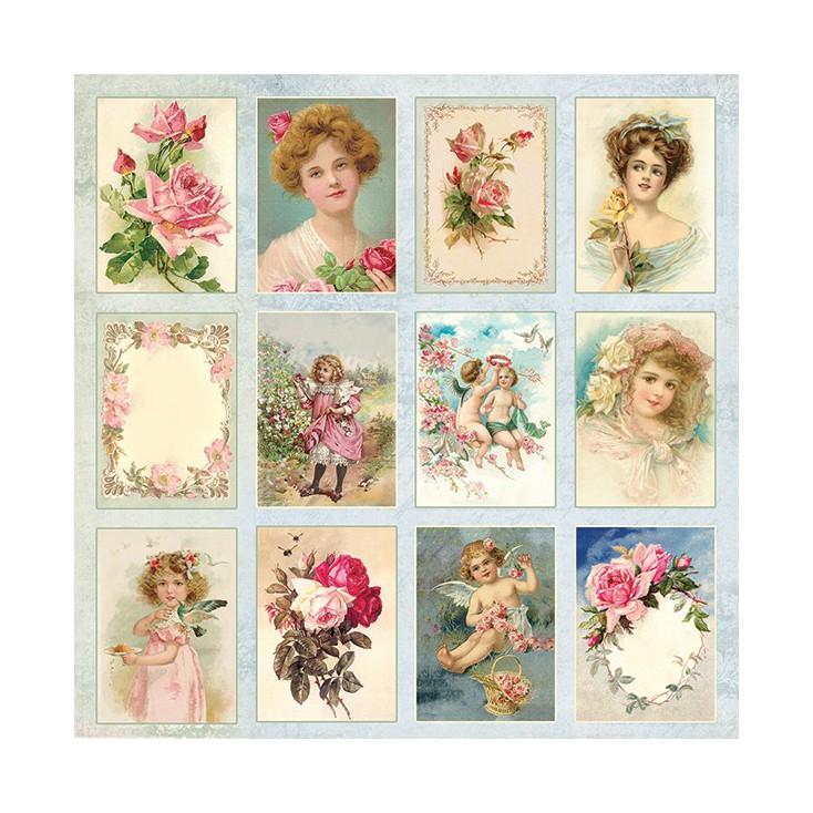 Scrapbooking paper - Craft and You Design - Rose Garden 07