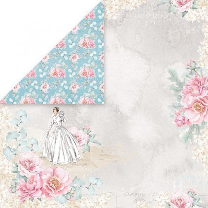 Papier do scrapbookingu - Craft and You Design - Pastel Wedding 01