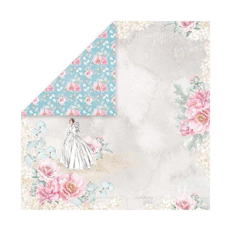 Scrapbooking paper - Craft and You Design - Pastel Wedding 01