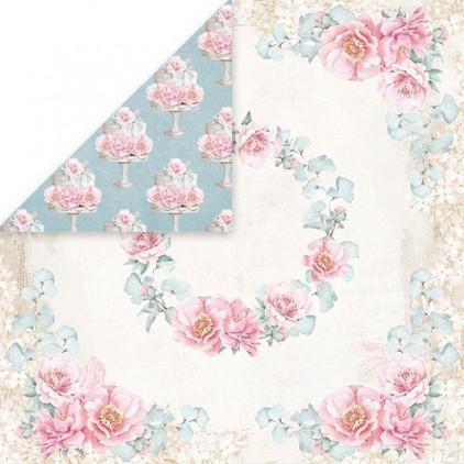 Scrapbooking paper - Craft and You Design - Pastel Wedding 04