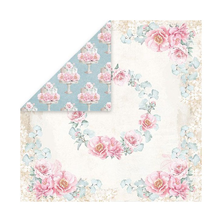 Scrapbooking paper - Craft and You Design - Pastel Wedding 04