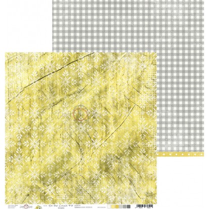 Papier do tworzenia kartek i scrapbookingu - Craft O Clock - On the couch- 03