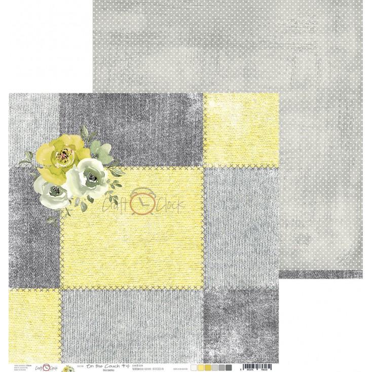 Papier do tworzenia kartek i scrapbookingu - Craft O Clock - On the couch - 04