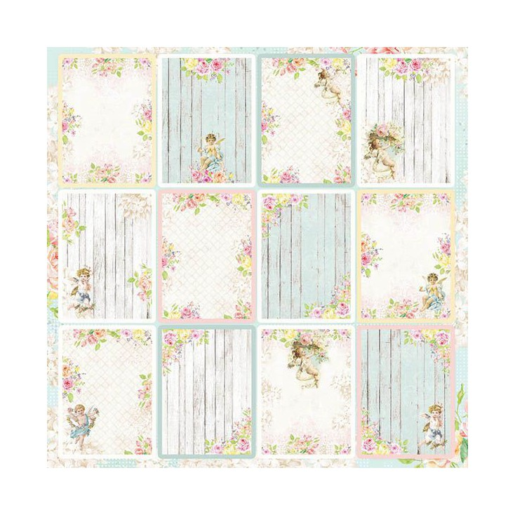 Scrapbooking paper - Craft and You Design - Amore Mio 07