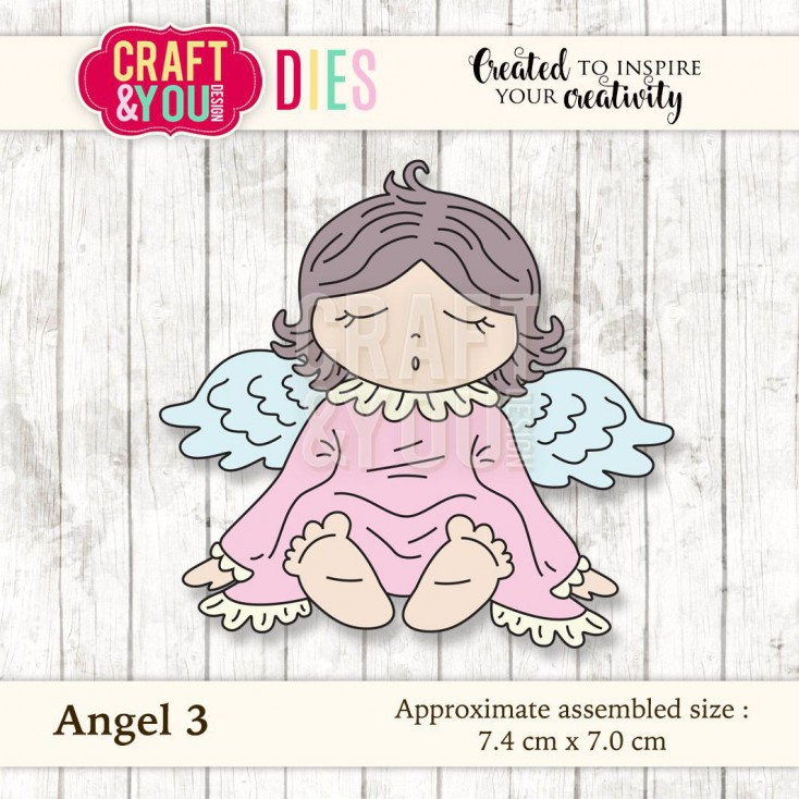 Craft and You Design Die - Angel 3
