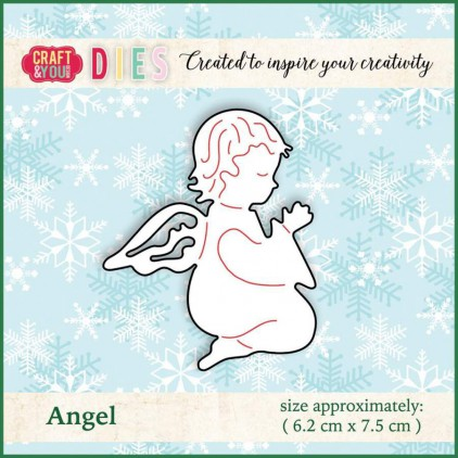 Craft and You Design Die - Angel 1