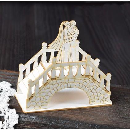 Wycinanka tekturowa - Tekturka - Anemone - Ślub w Wenecji 3D