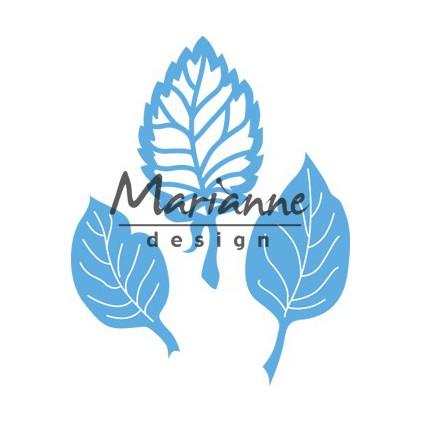 Listki - Wykrojnik - Marianne Design LR0547
