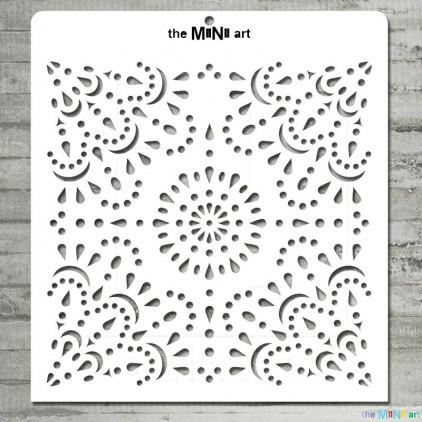 the MiNi art - Mask, stencil - lace M