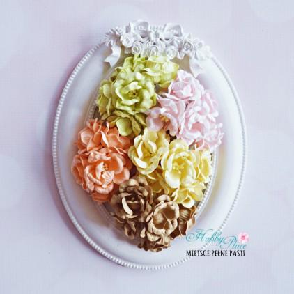 Peony flower set - mix 1 - 25 pcs