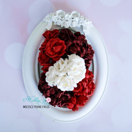 Peony flower set - mix 4 - 25 pcs
