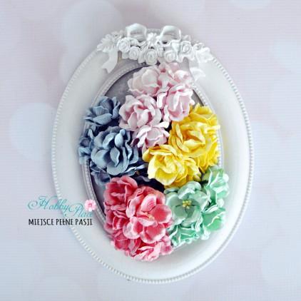 Peony flower set - mix 6 - 25 pcs