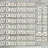 the MiNi art - tekturka - Napisy W Dniu Imienin