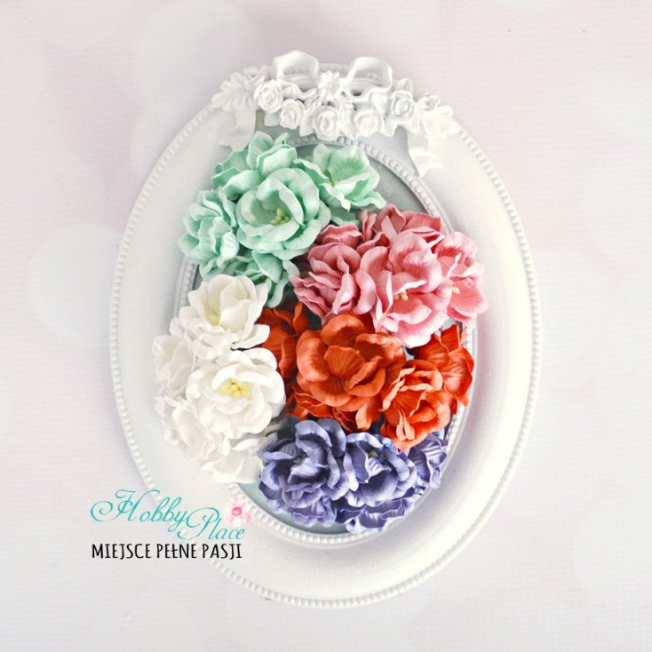 Peony flower set - mix 7 - 25 pcs