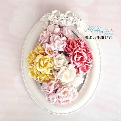 Peony flower set - mix 8 - 25 pcs