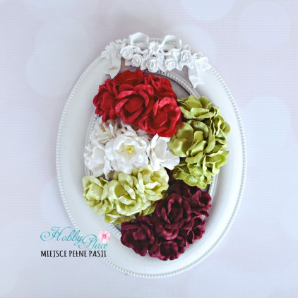 Peony flower set - mix 11 - 25 pcs