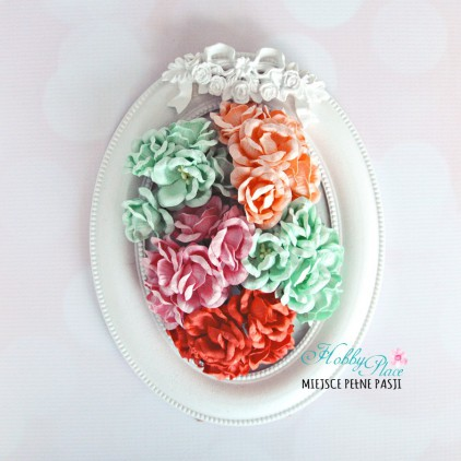 Peony flower set - mix 14 - 25 pcs