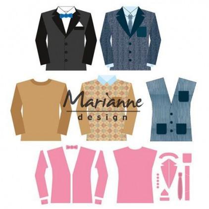 Marianne Design Collectables Men's wardrobe die - COL1434