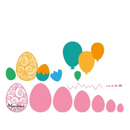 Marianne Design Collectables Easter eggs die - COL1425