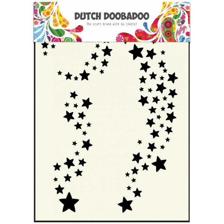 Dutch Doobadoo - Maska, szablon - Stars