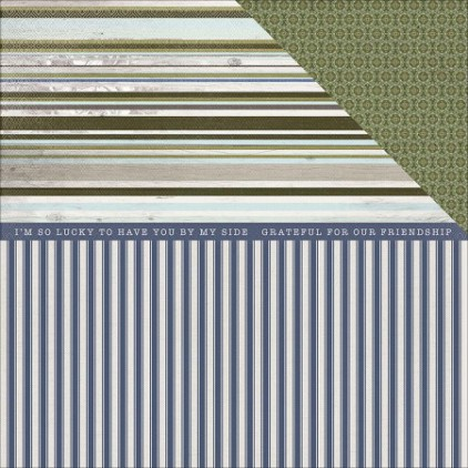 Scrapbooking paper- Kaisercraft - Provincial Collection - Chaise
