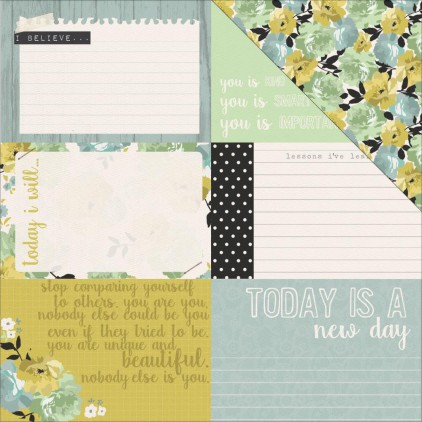 Scrapbooking paper- Kaisercraft - me - Dreams