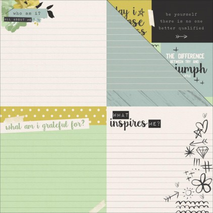 Scrapbooking paper- Kaisercraft - me - Encourage