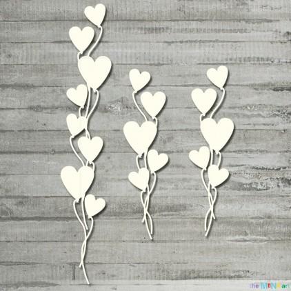 Purrfect Love - baloniki - tekturka - the MiNi art