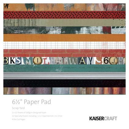 Scrapbooking paper pad- Kaisercraft - Scrap Yard