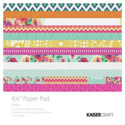 Scrapbooking paper pad- Kaisercraft - Fiesta !