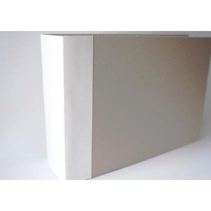 Baza albumowa kwadratowa- biała - 20x30x7 cm - Fabrika Decoru