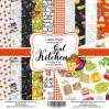 Zestaw papierów do tworzenia kartek i scrapbookingu 20 x 20 - Fabrika Decoru - Soul Kitchen