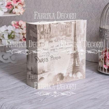 Baza albumowa kwadratowa- tekstura European holidays- 20x20x7 cm - Fabrika Decoru