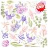 Set of scrapbooking papers - Fabrika Decoru 20 x 20 - Majestic Iris
