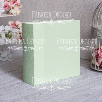 Album base square- Texture - Light green - 20x20x7 cm - Fabrika Decoru