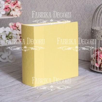 Baza albumowa kwadratowa- tekstura - Sunny - 20x20x7 cm - Fabrika Decoru