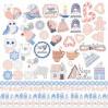 Papier do tworzenia kartek i scrapbookingu - Fabrika Decoru - Huge winter - Obrazki do wycinania