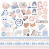 Scrapbooking paper - Fabrika Decoru - Huge winter- Pictures for cutting
