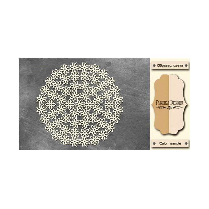 Tiny flower napkin - Chipboard - Fabrika Decoru FDCH233