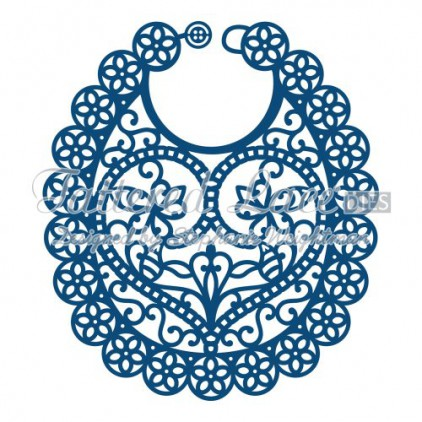 Tattered Lace D562 - Die - Bib