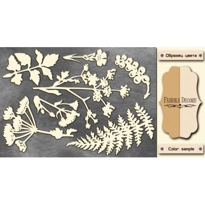 Zestaw tekturek - Tekturka - Fabrika Decoru - Botany Summer FDCH 77