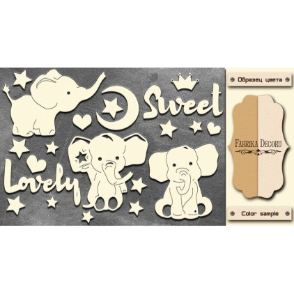 Set of cardboard - Chipboard - Fabrika Decoru-My little baby boy-2- FDCH 109