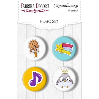 Selfadhesive buttons/badge - Fabrika Decoru - 221